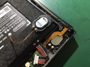 【Nintendo Switch】スピーカー故障、修理1時間