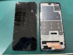 【Huawei nova lite 3】画面割れ修理ならスマホ修理王 大阪心斎橋店へ
