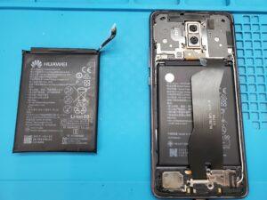 【Huawei Mate 10 Pro】膨張したバッテリー、Androidのバッテリー交換も当店で即日交換致します!【イオシス福岡天神店】