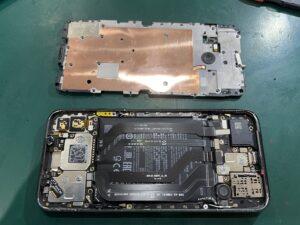 【Xiaomi Black Shark2】バッテリー膨張の交換修理はスマホ修理王 大阪心斎橋店へ