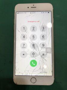 足立区梅田でiPhone 6 Plus画面交換ならスマホ修理王 梅島店へ