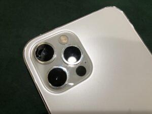 【iPhone 12 Pro】外カメラのレンズ割れ、修理できます