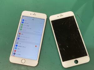 足立区梅田でiPhone 6SPlus画面交換ならスマホ修理王 梅島店へ