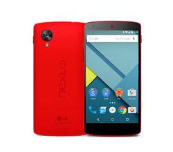 Nexus 5 ブライトレッド