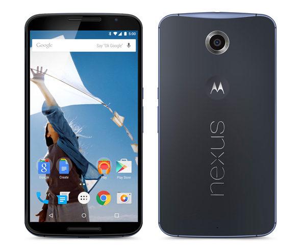 Nexus 6 ダークブルー