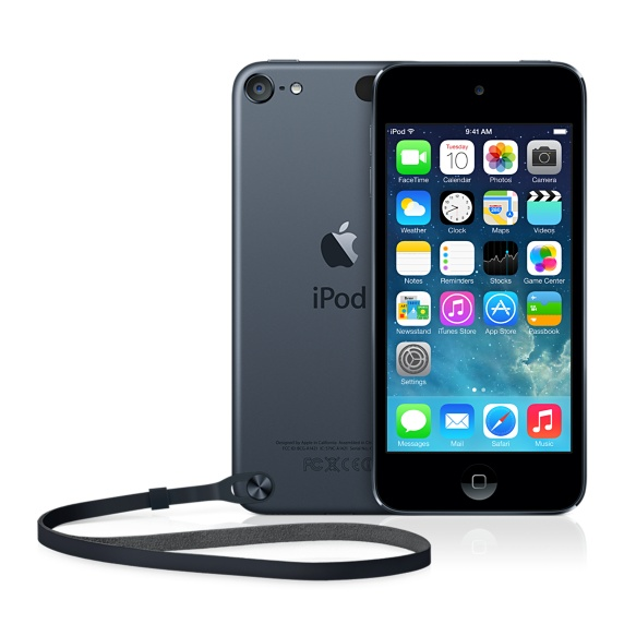 iPod touch 5 ブラック&スレート
