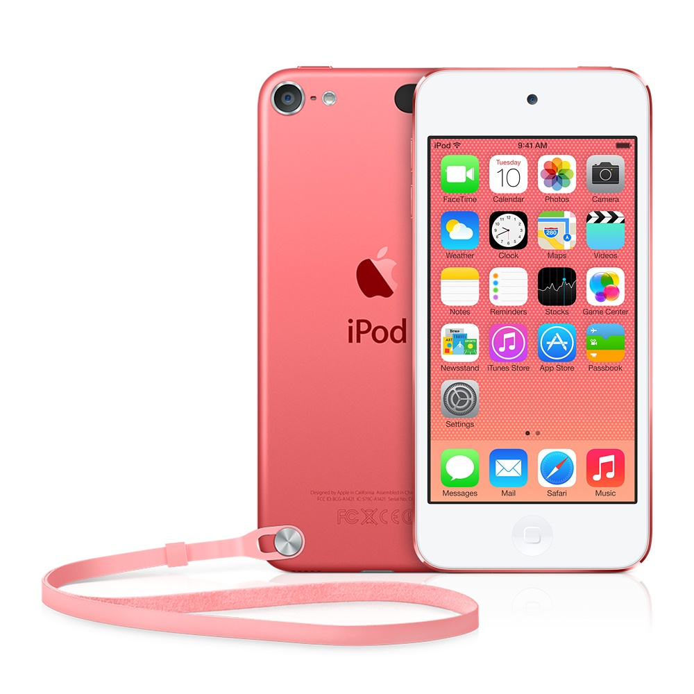 iPod touch 5 ピンク