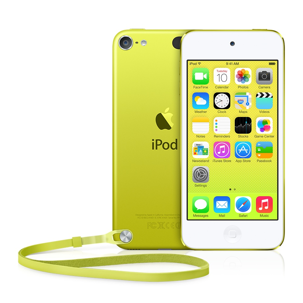 iPod touch 5 イエロー
