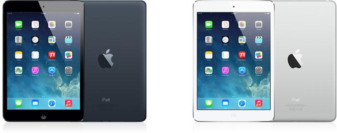 iPad mini 第1世代 カラーバリエーション