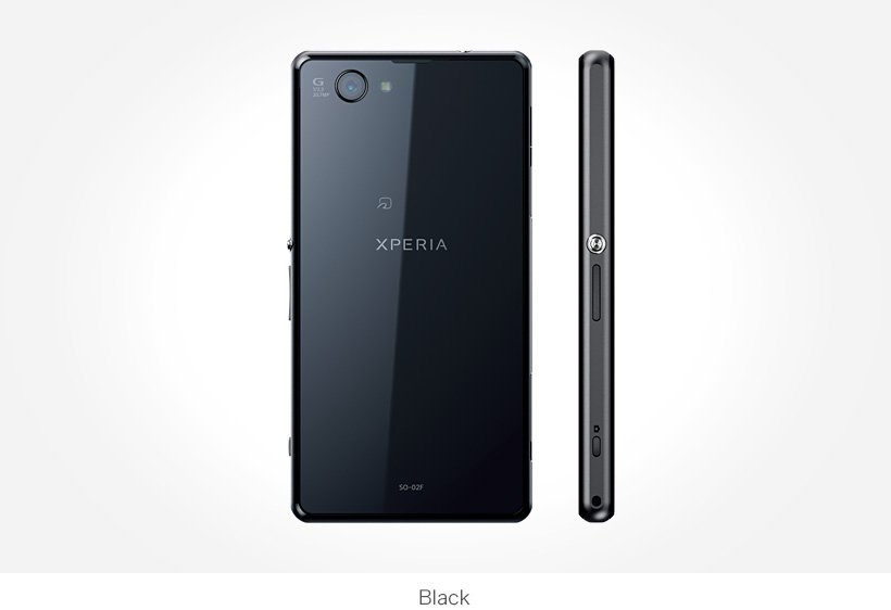 XPERIA Z1 F ブラック