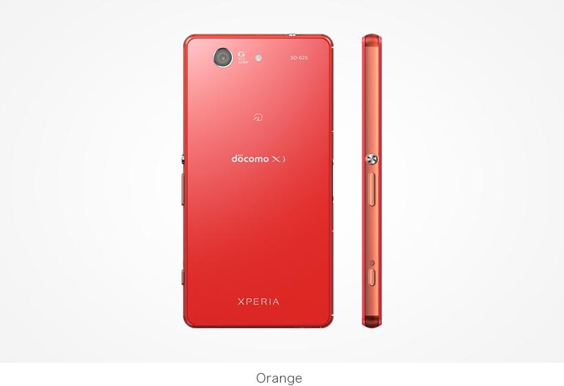 XPERIA Z3 Compact オレンジ
