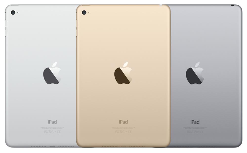 iPad mini 4 カラーバリエーション