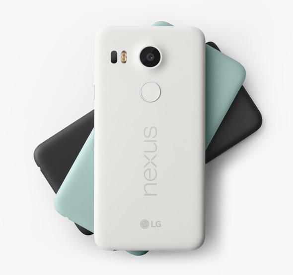 Nexus 5X カラーバリエーション