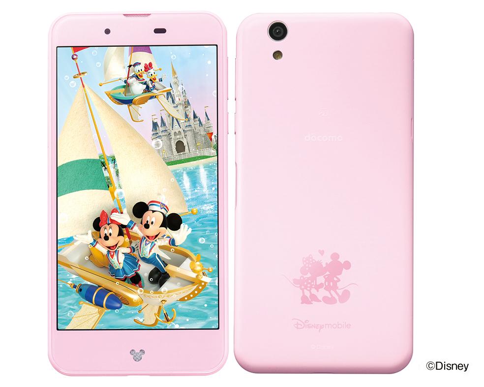 Disney mobile on docomo DM-01J ピンク