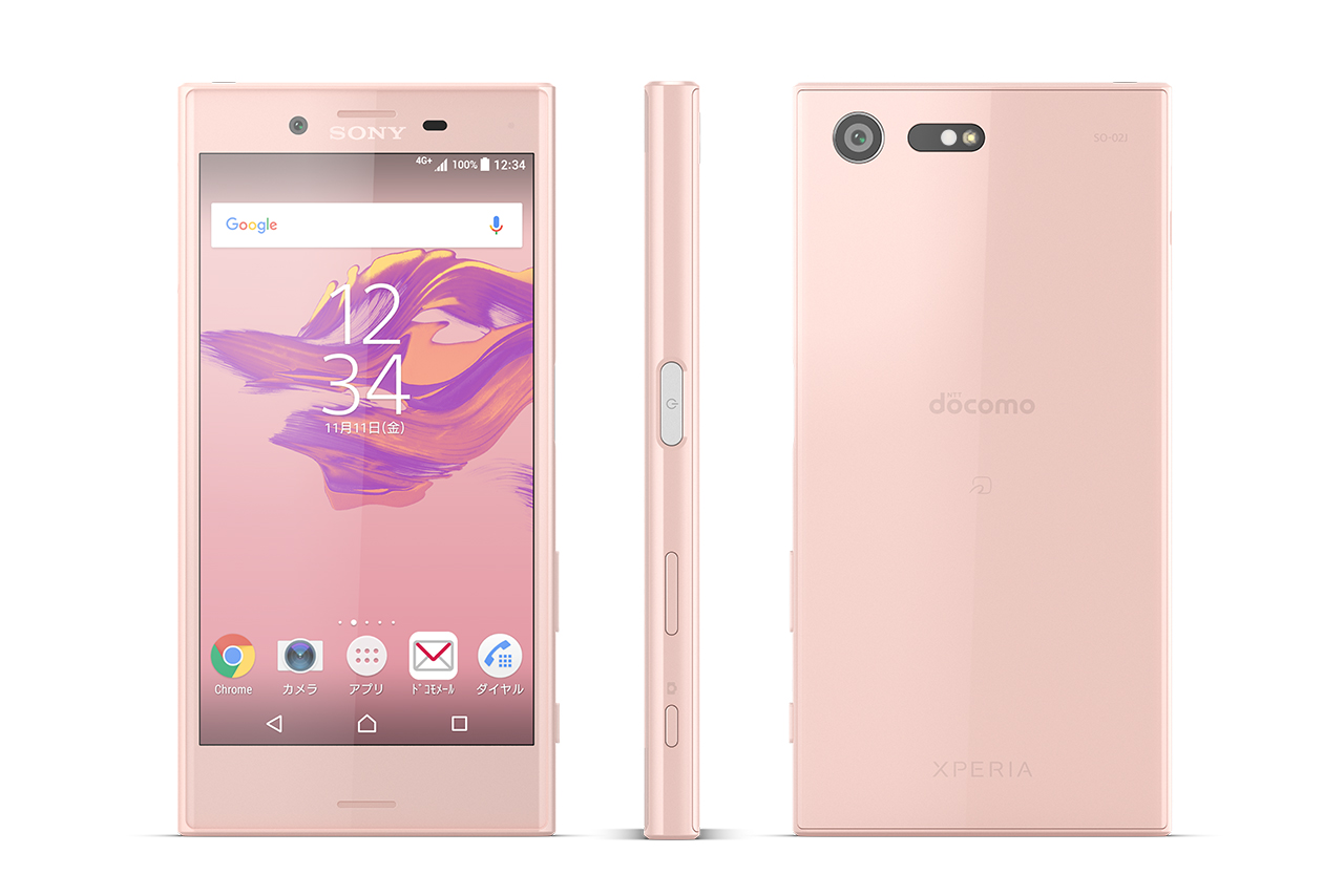 XPERIA X Compact ピンク